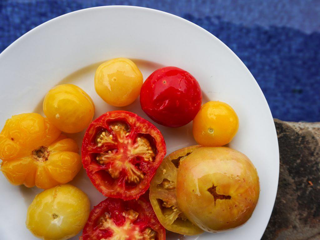 Eingelegte Tomaten ohne Salz Rezept.