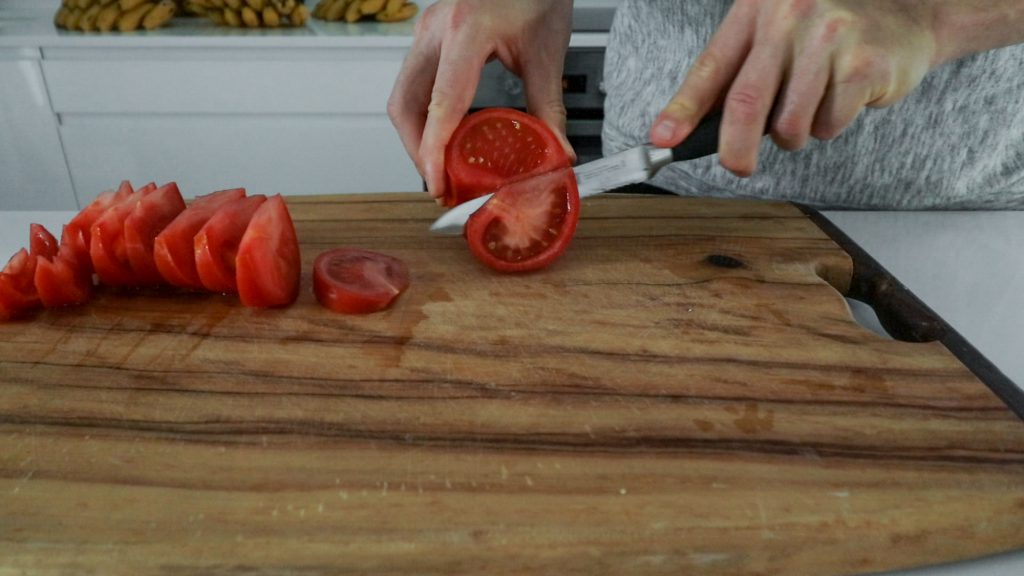 Rohkost Ketchup Tomaten trocknen