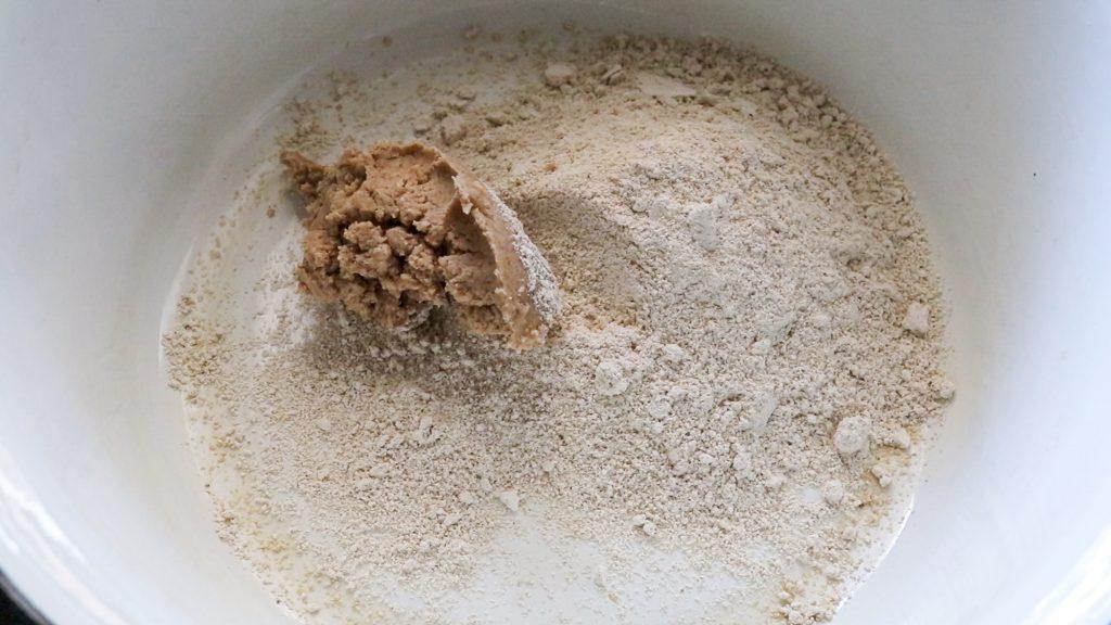 Zubereitung Vegane Kekse für den Hund.