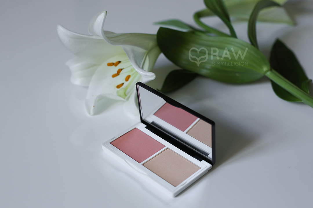 CORALISTA CHEEK DUO cheek duo  blush compact light reflecting Highlighter