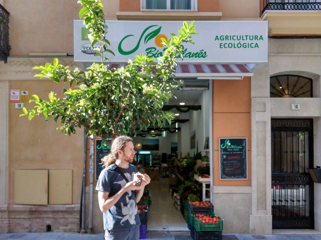 Bioobst und Biogemüse in Malaga Biomilanes.