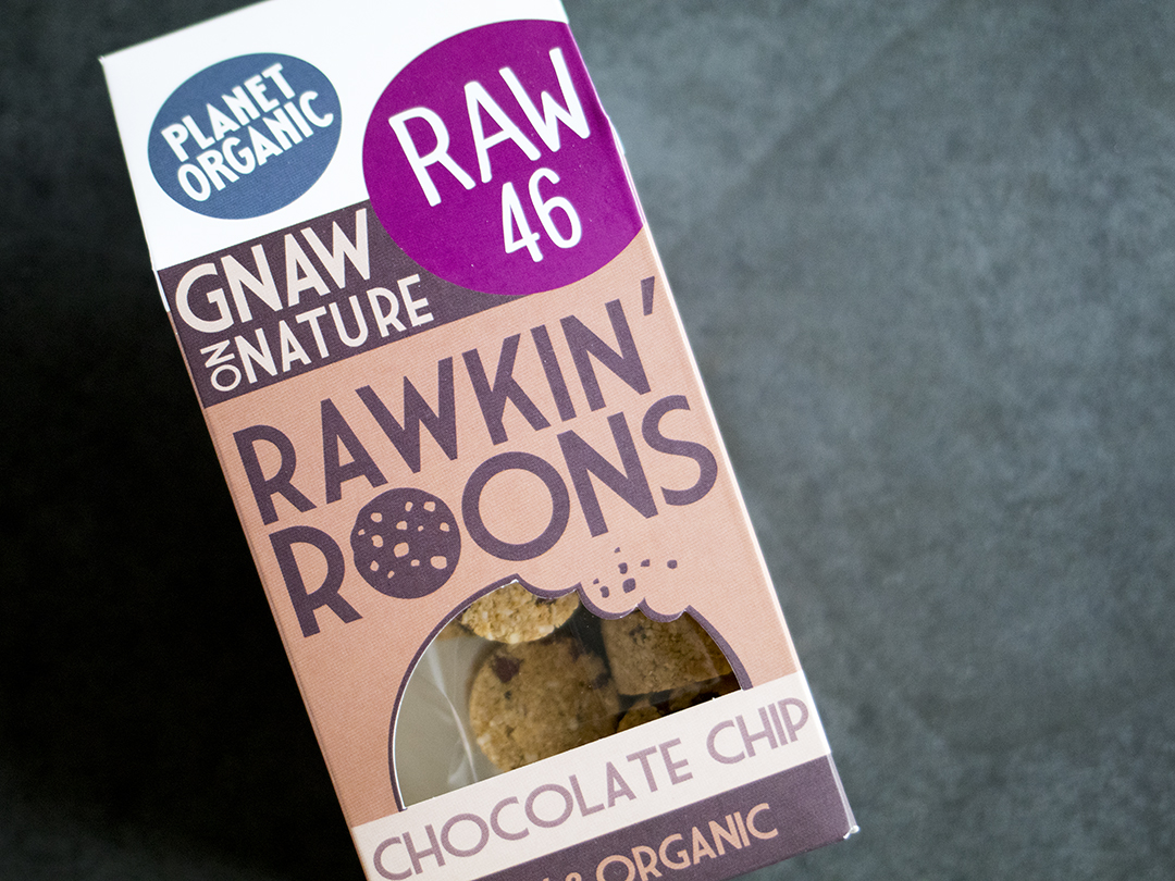 Chocolate Chip Rawkin' Roons