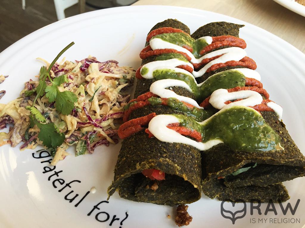 Enchilada Cafe Gratitude Venice Elated