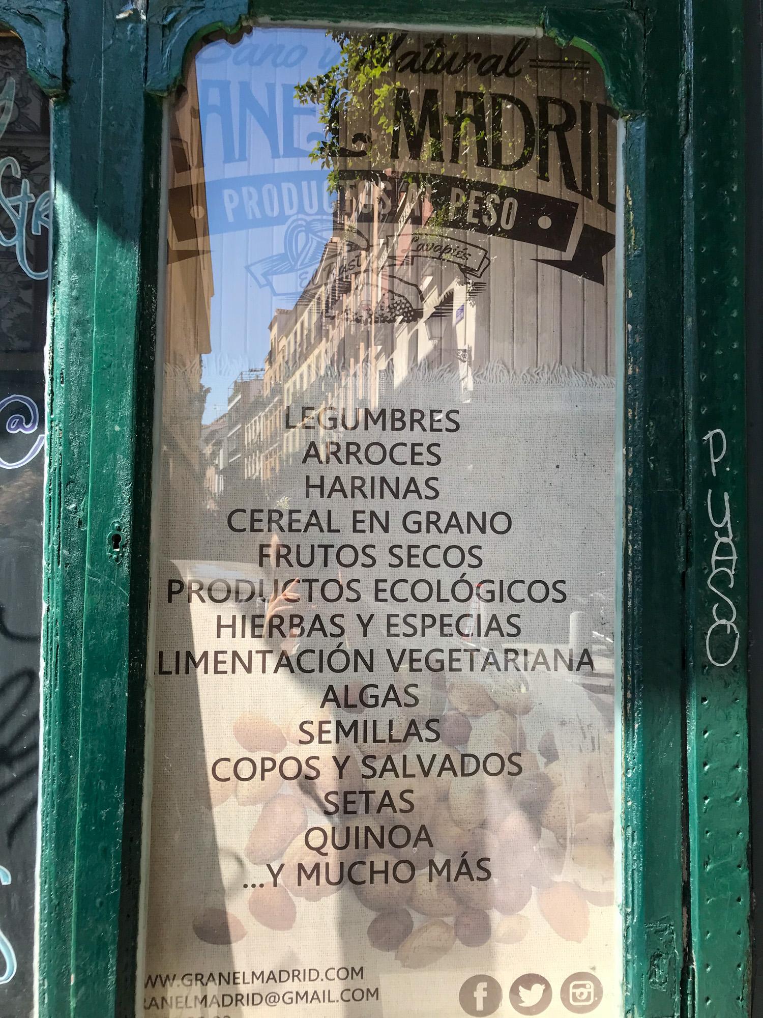Granel Madrid Zero Waste