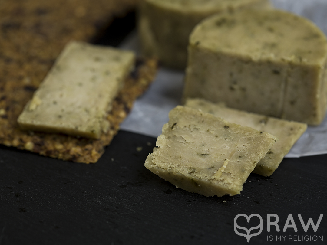 veganer käse rohkost Happy cheese gereifter