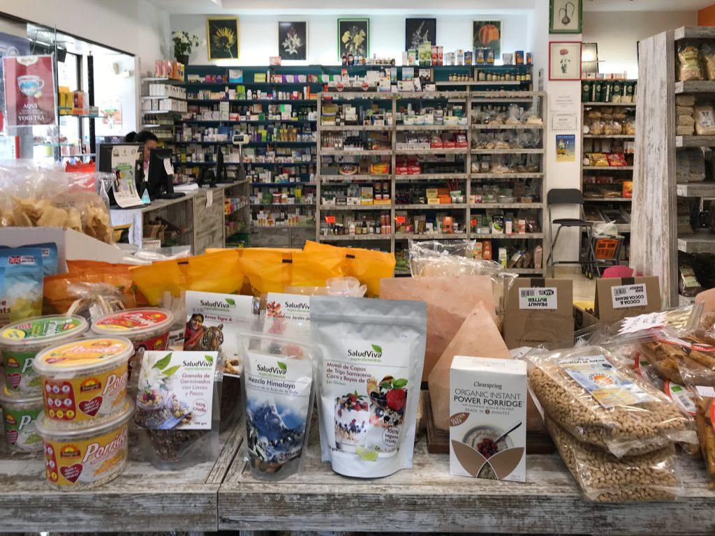 Bioschokolade in Malaga Bio Lebensmittel Herbalism Central.