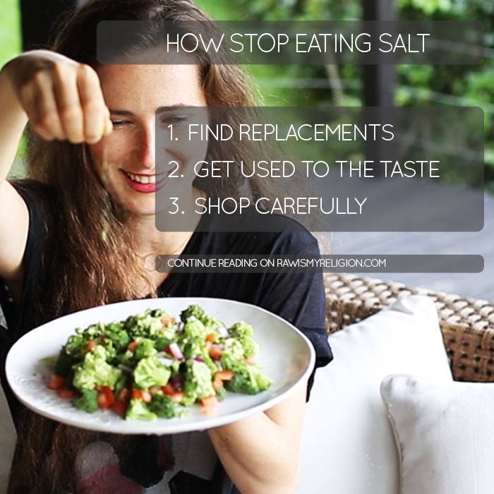 How stop eating salt