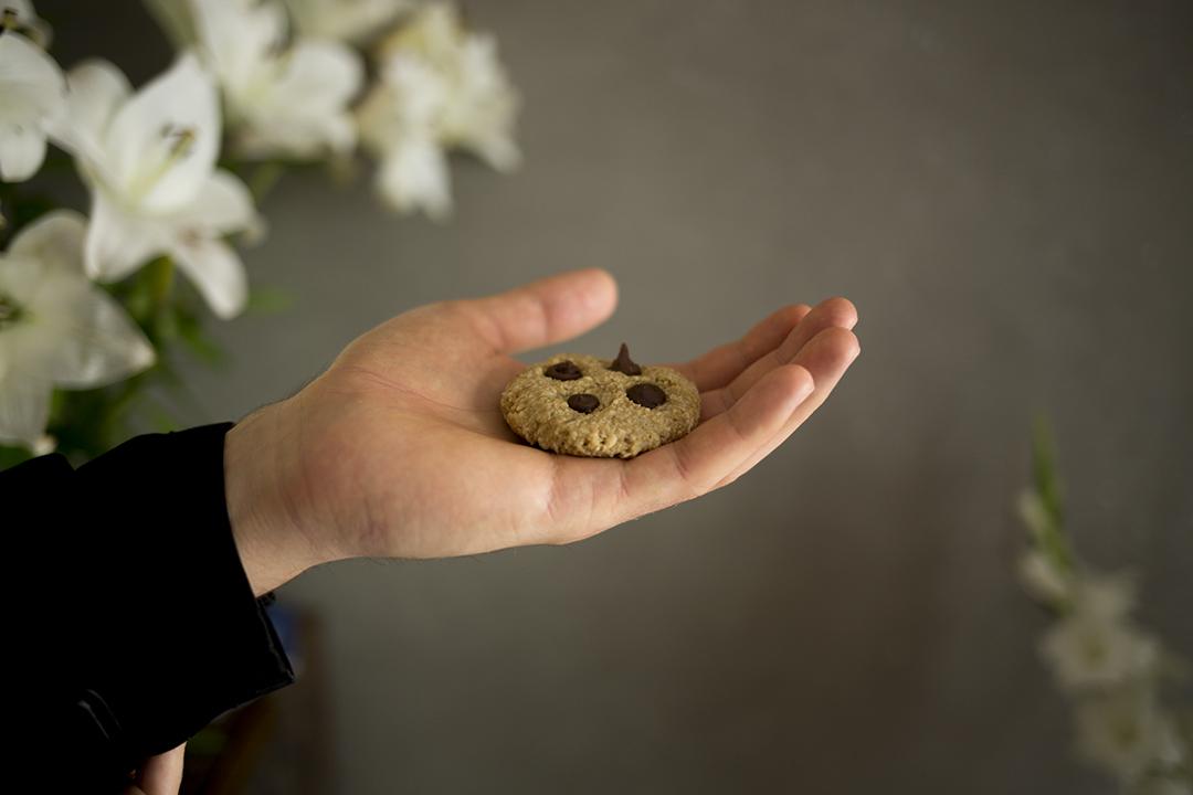 Keks Chocolate cookie gracias madre Raw Food Hamburg