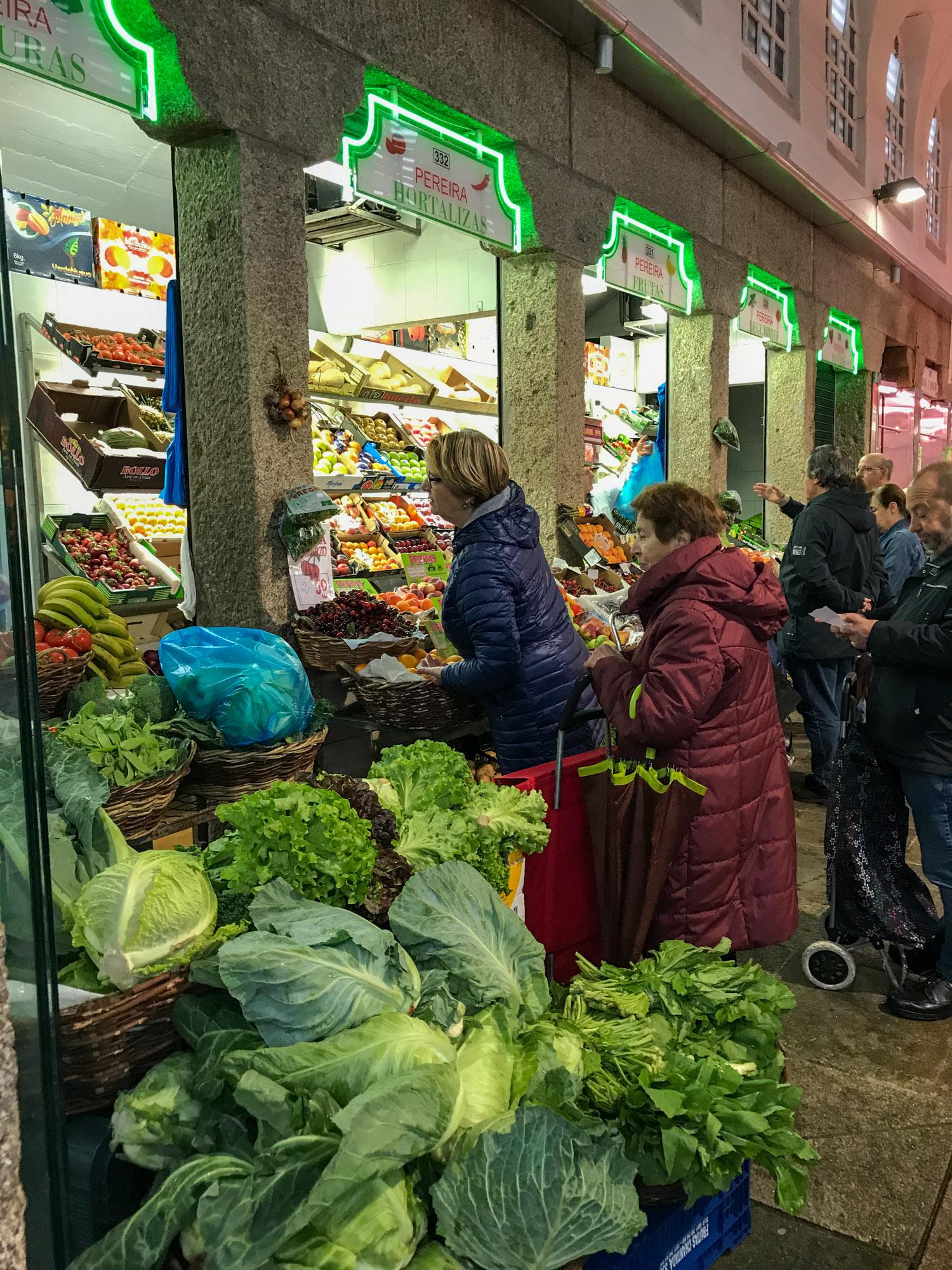 Biomarkt Mercado de Abastos de Santiago.