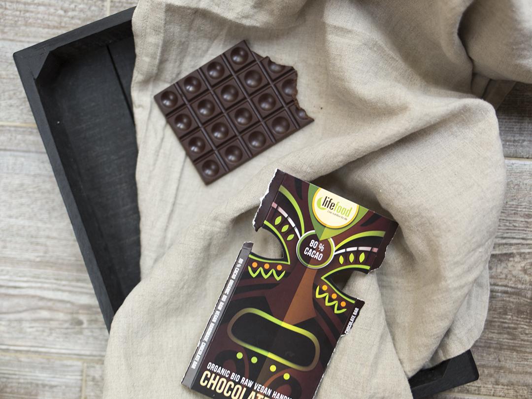 Raw Chocolate 80 Cacao Life Food