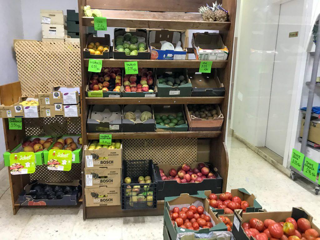 Biokaufen in Sevilla. Supermercado Ecológico Gaia Bioladen.