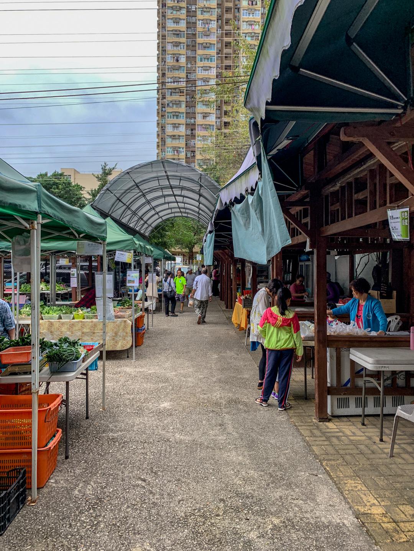 Tai Po Farmers' Market organic Hong Kong