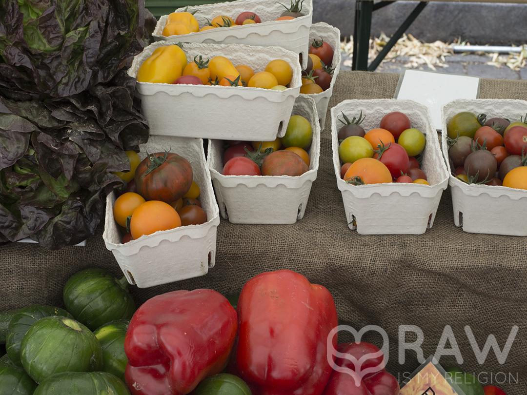 Der Ökomarkt am Chamissoplatz Tomaten