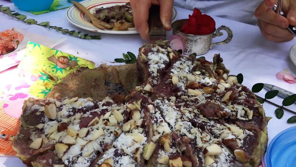 Torte Brunch vegan hirschgarten