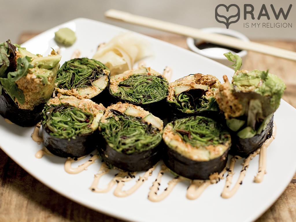 Tuna Roll raw springs