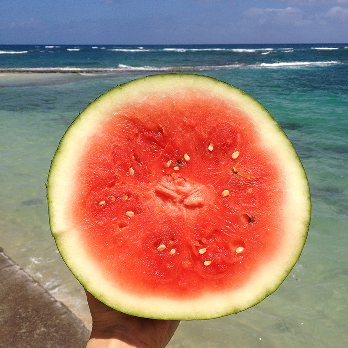 Watermelon in Hawaii