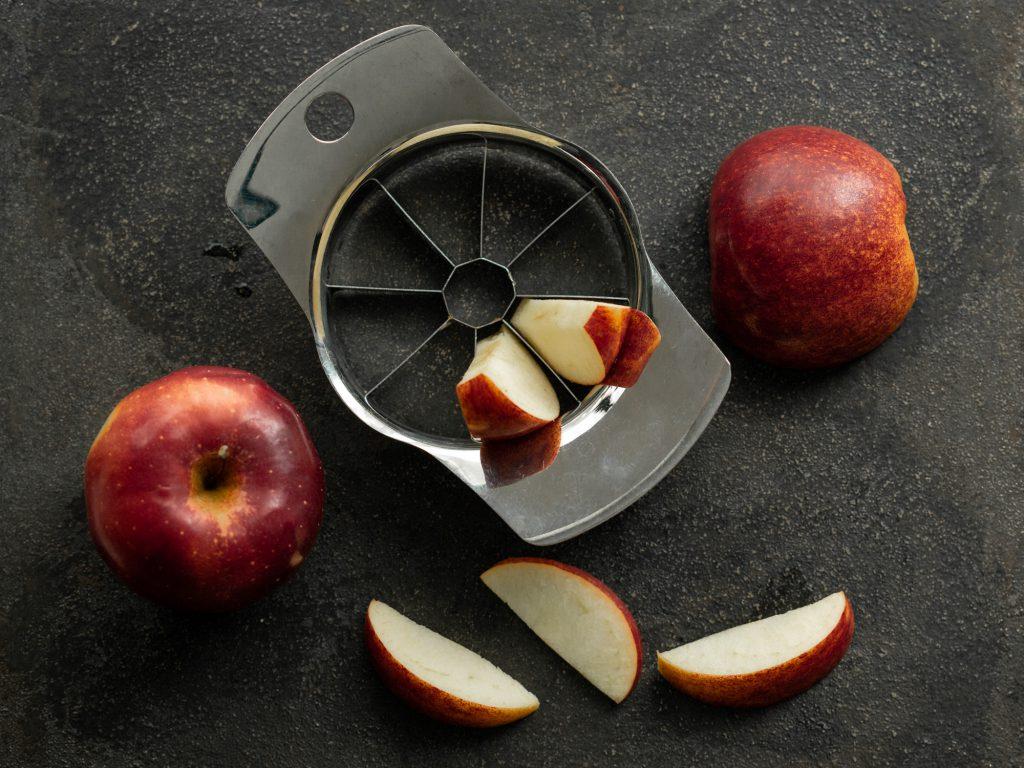 Süßungsmittel aus Apfel.