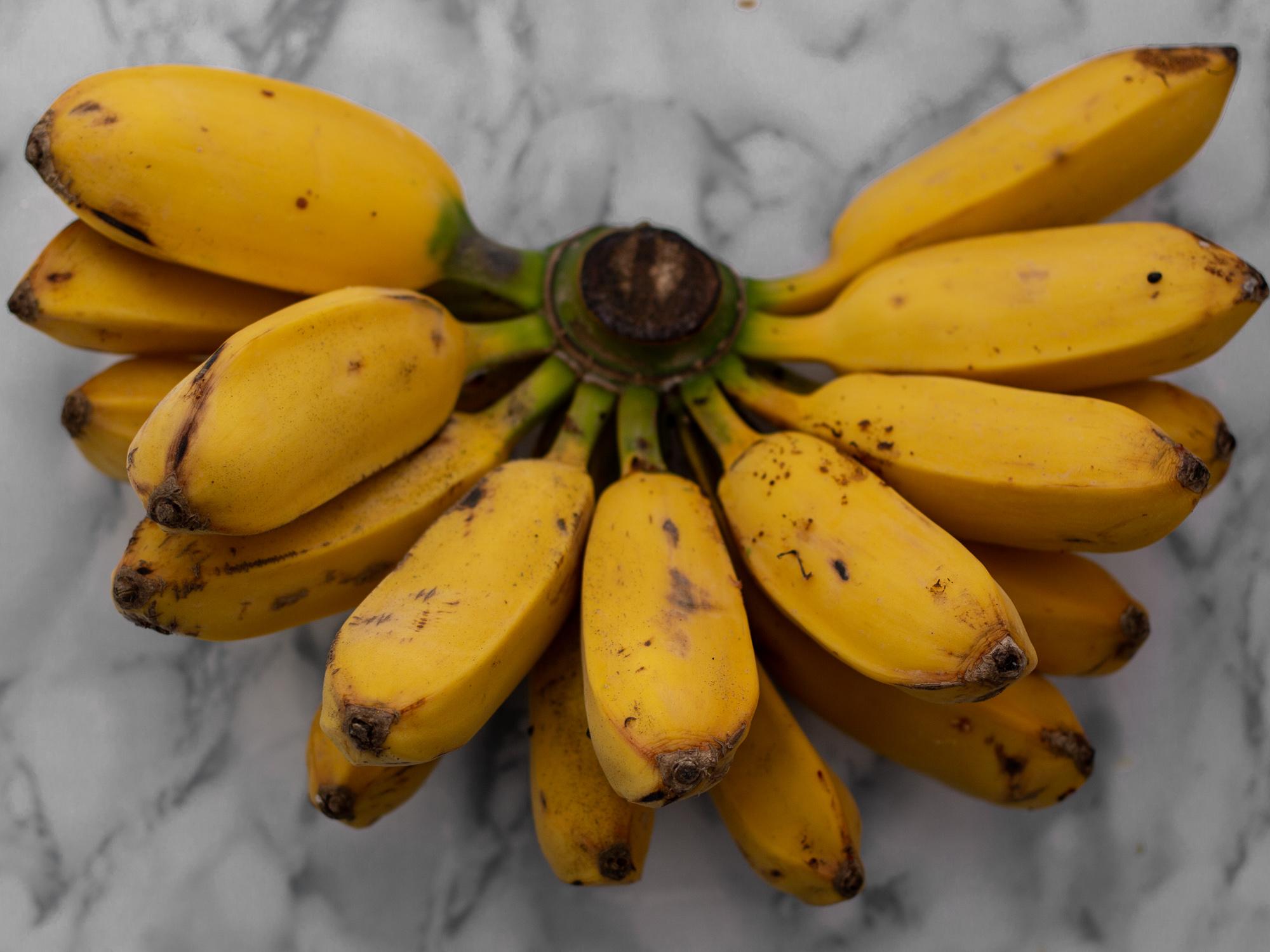 reife bio banane
