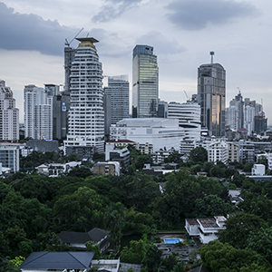 bangkok loves skyline
