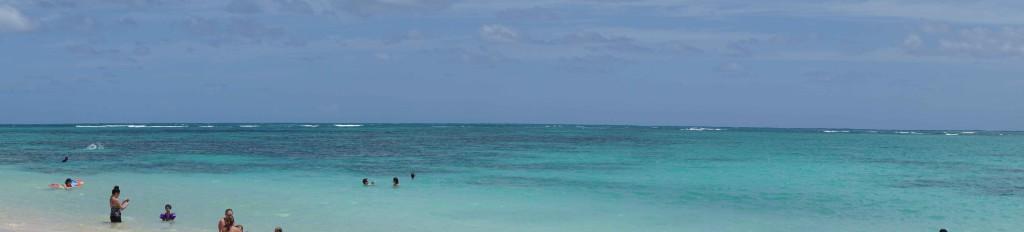 beach panorama lanikai