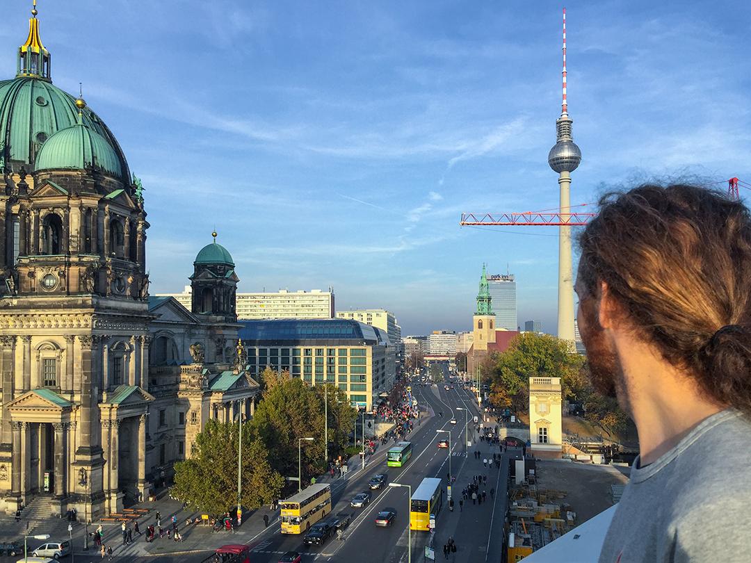 berlin views alexander platz dom