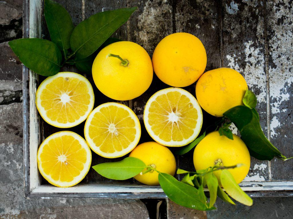 bio zitrone rohkost vegane rezepte