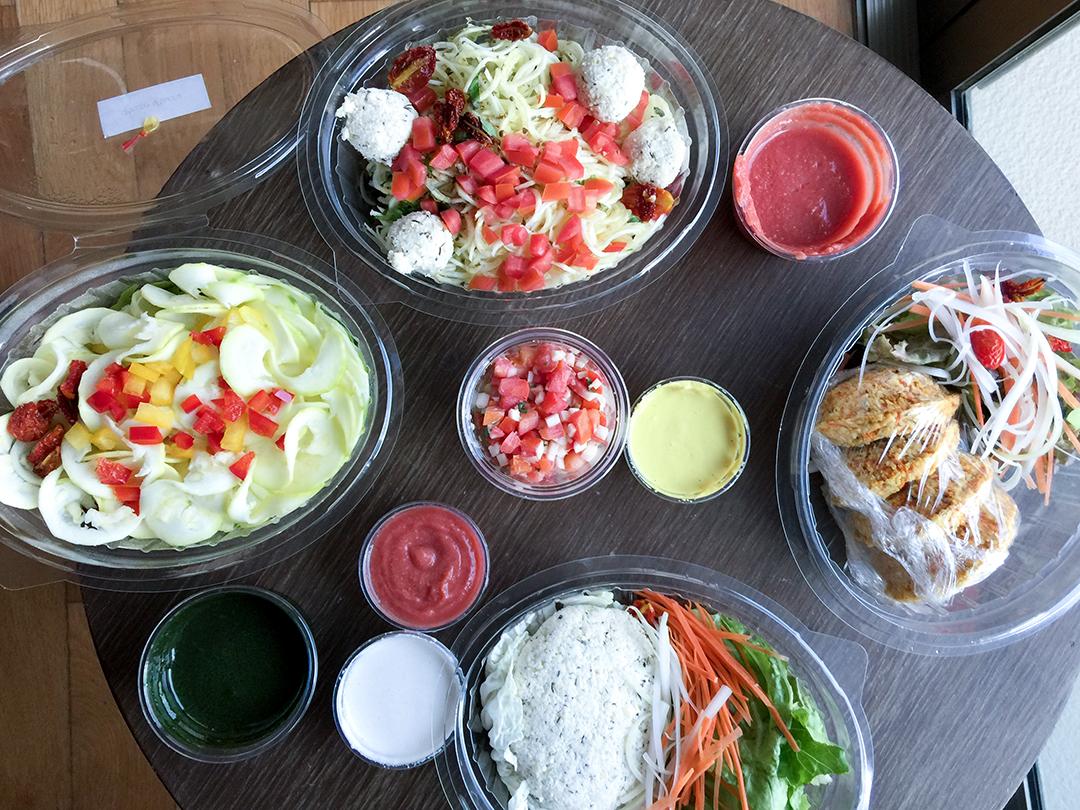 breakfast delivery order rasayana retreat thailand raw food