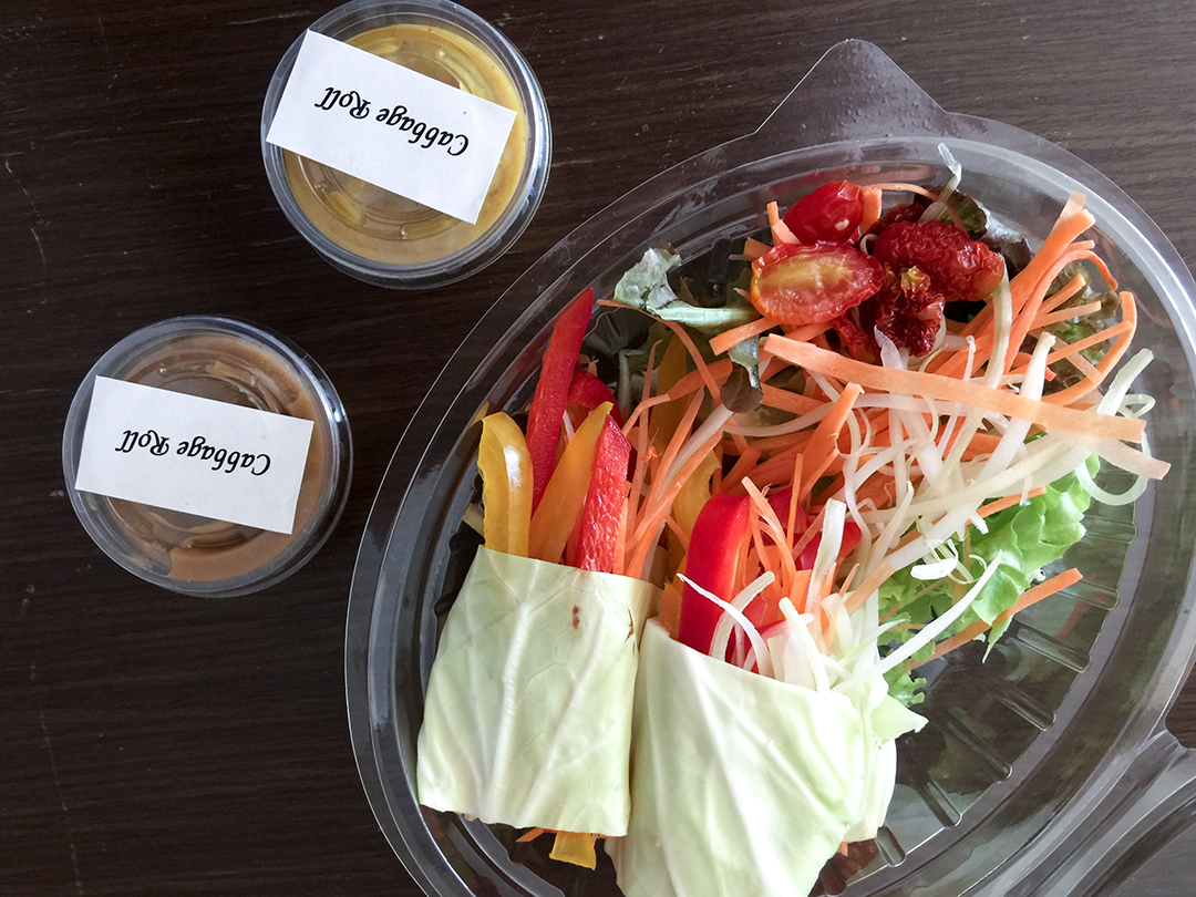 cabbage roll rasayana retreat thailand raw food