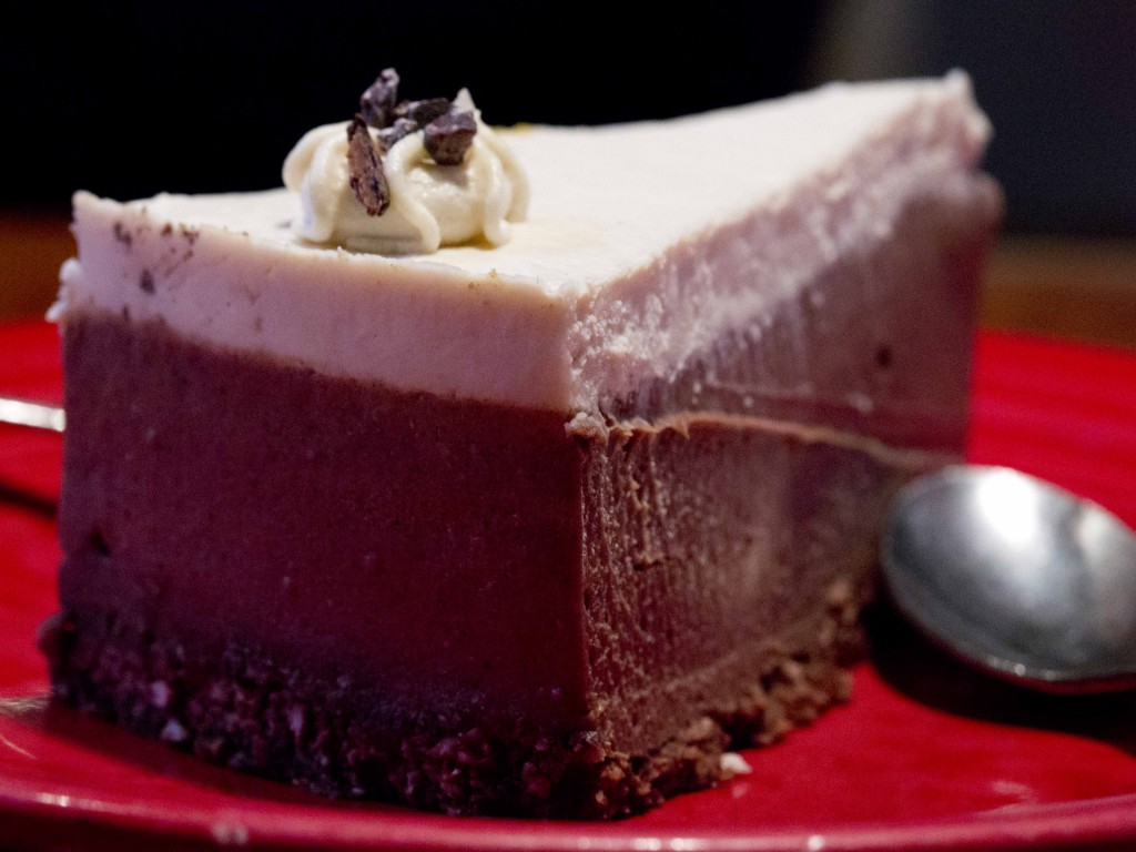 mousse pie raw vegan