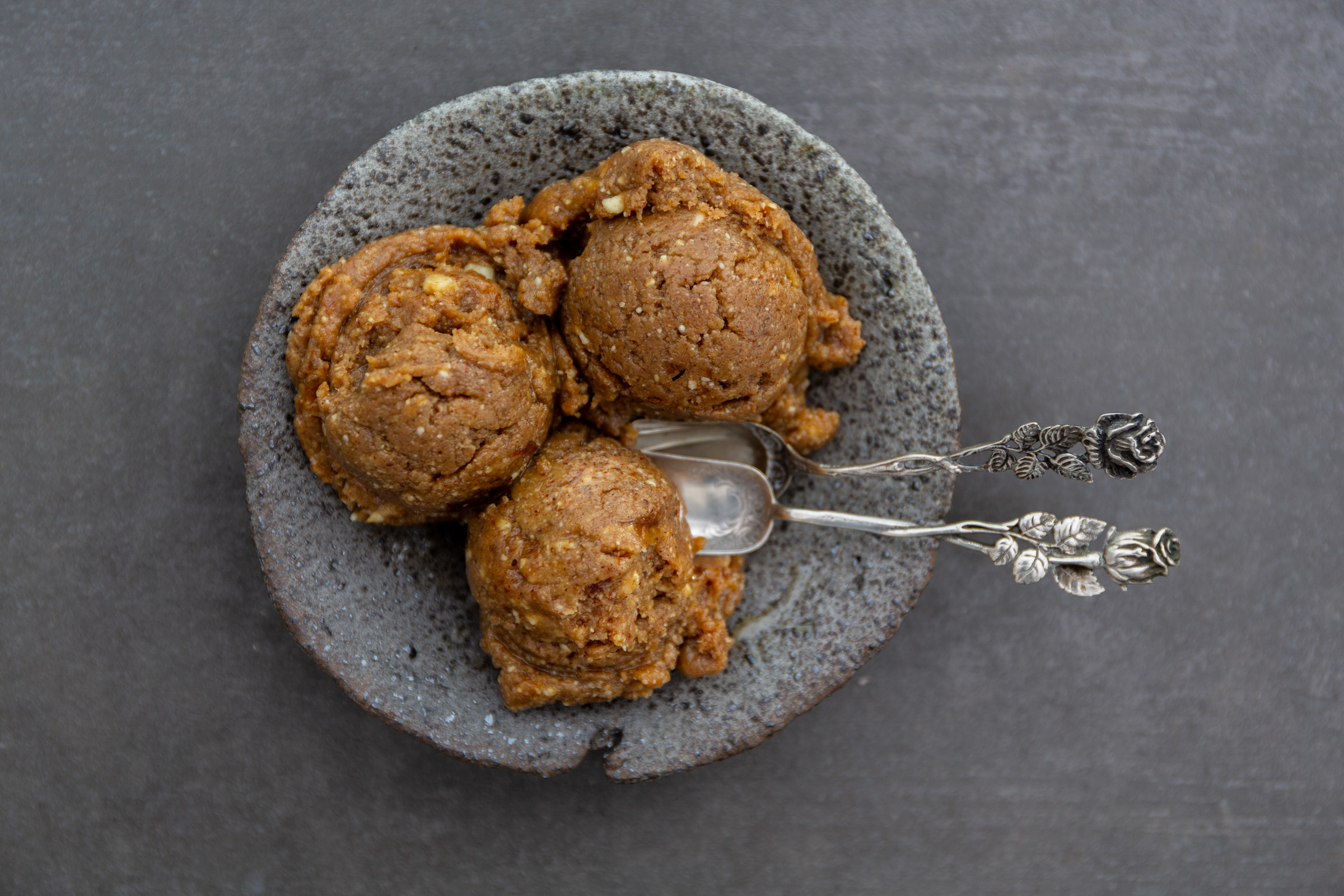 rohkost Roher Plätzchenteig Cookie Dough