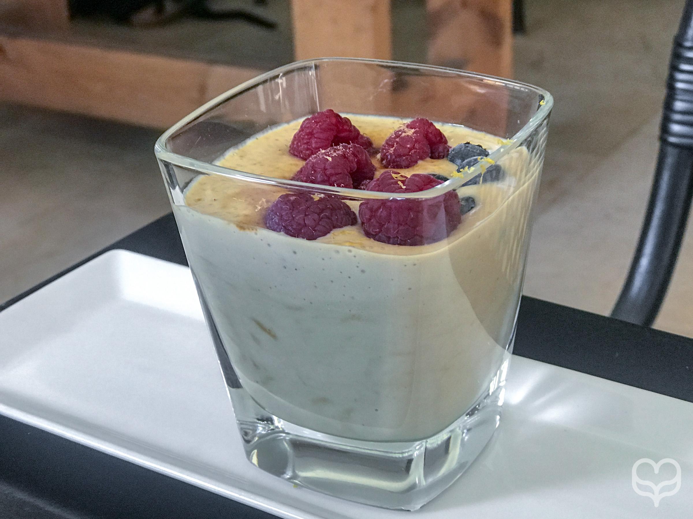 Lemon milk dessert crucina madrid