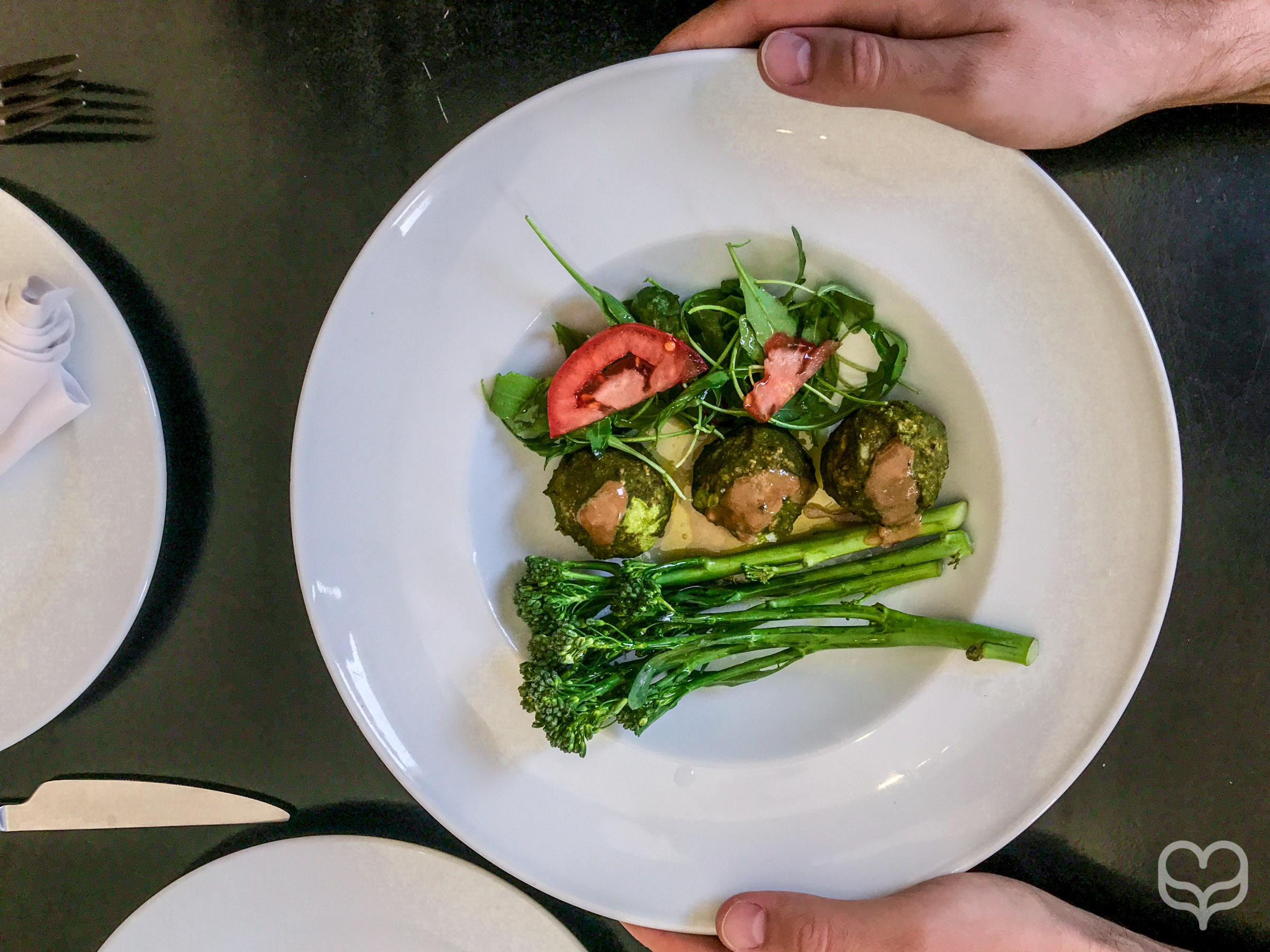 meat balls crucina raw food madrid