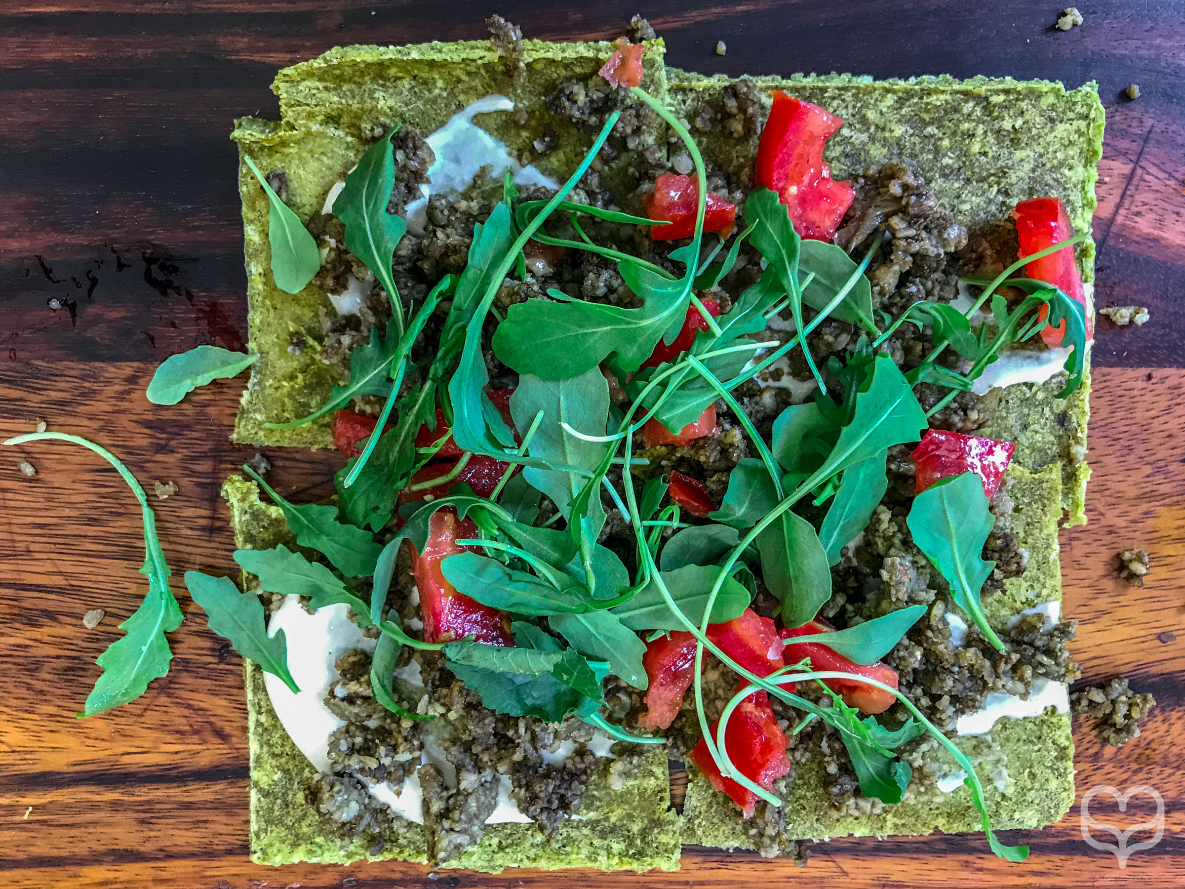 raw vegan restaurant pizza madrid crucina