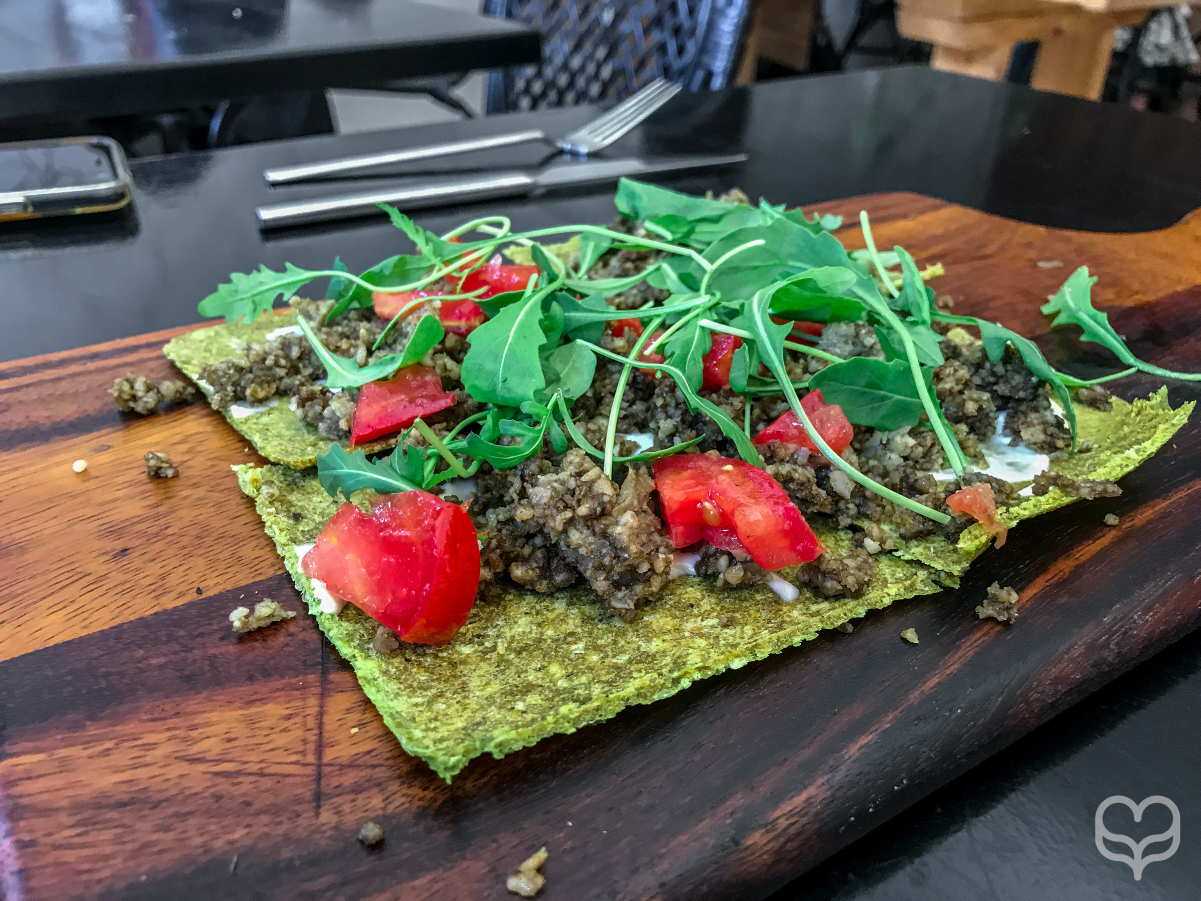 raw vegan restaurant pizza madrid crucina