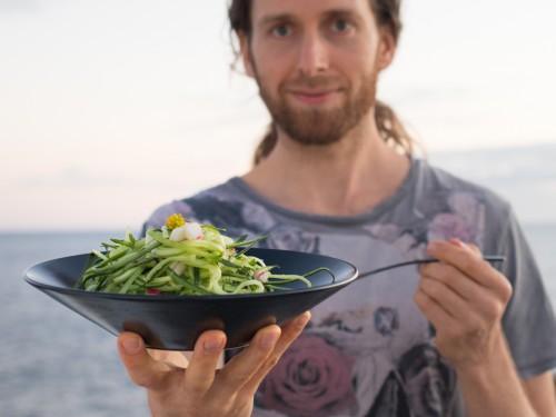 cucumber noodle salad recipe