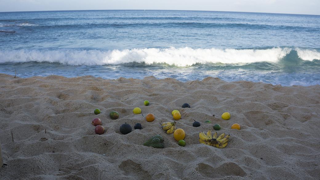ostereier strand ostern hawaii