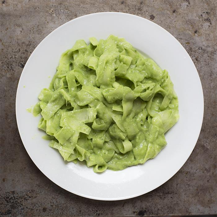 fettuchine creamy salad