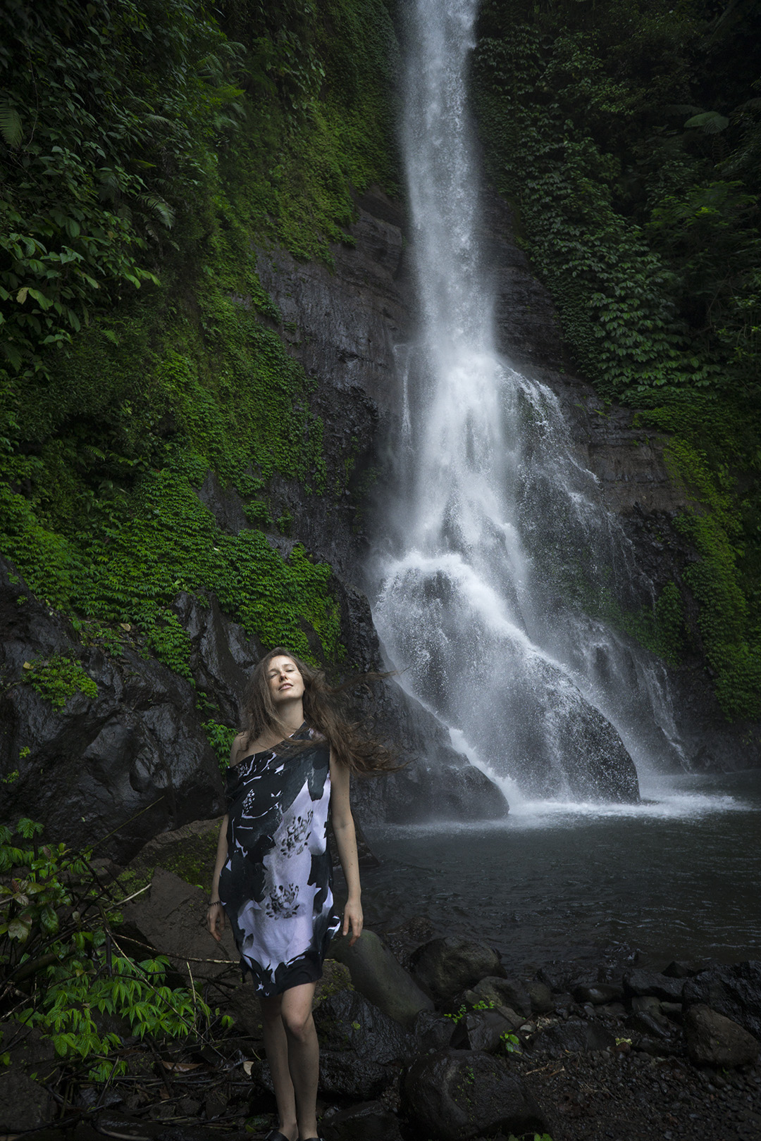 git git waterfall bali travel digital nomads summer ina melny