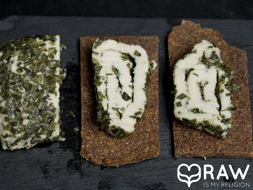 veganer käse rohkost happy cheeze macadamia schnittlauch happy-cheeze.de