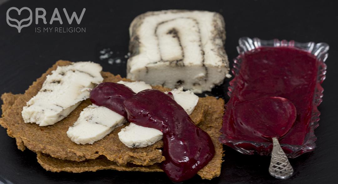 veganer käse rohkost happy cheese pfeffer macadamia veganer käse