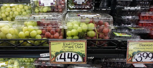 healthy discounter shopping trader joes nyc