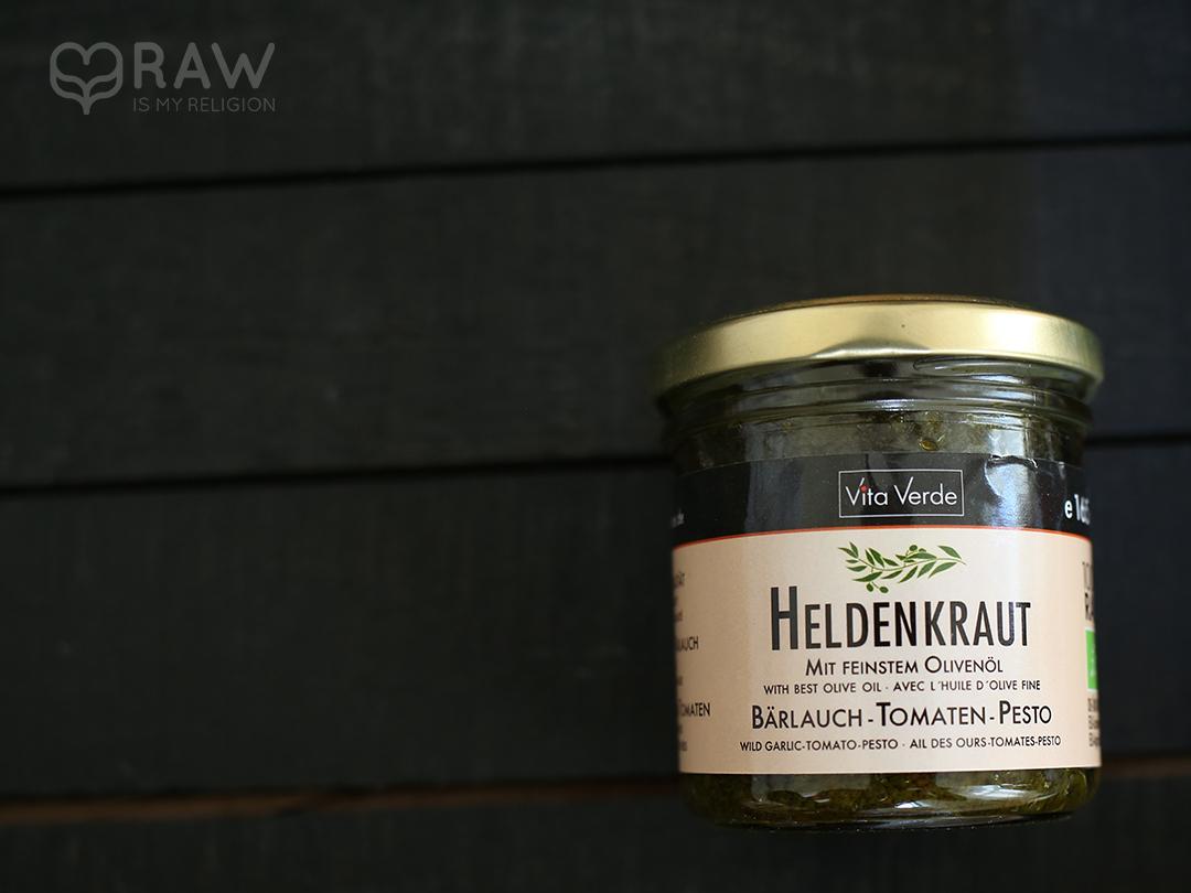 heldenkraut baerlauch tomate rohkost pesto vita verde