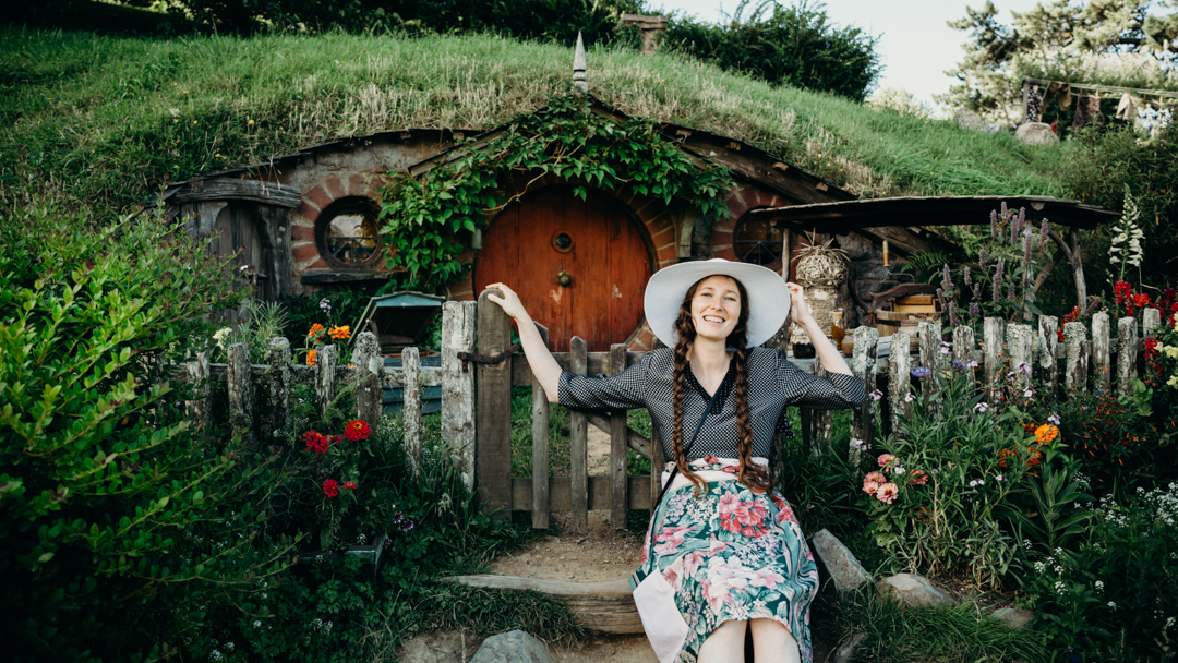 Hobbiton Movie Set how to take a good photos