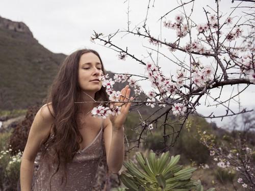 ina melny almond tree tenerife