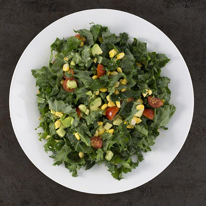 kale grünkohl salat wirsing salat