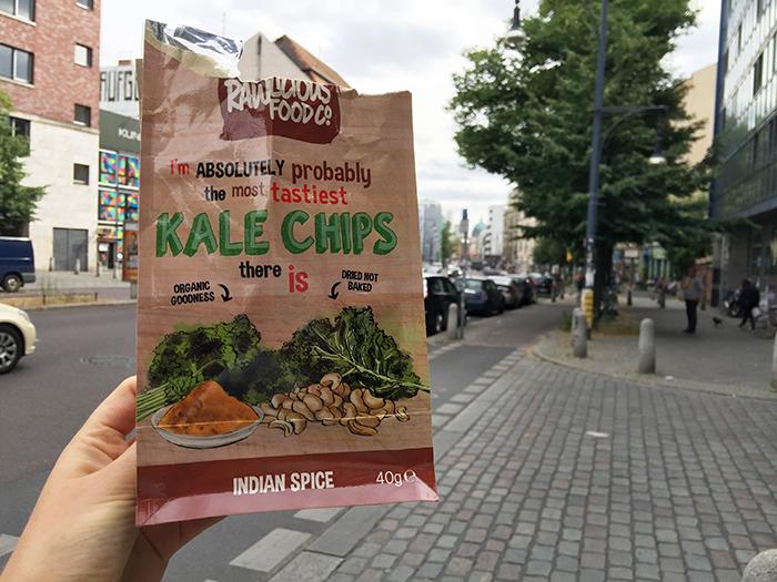 kale chips sind nicht roh