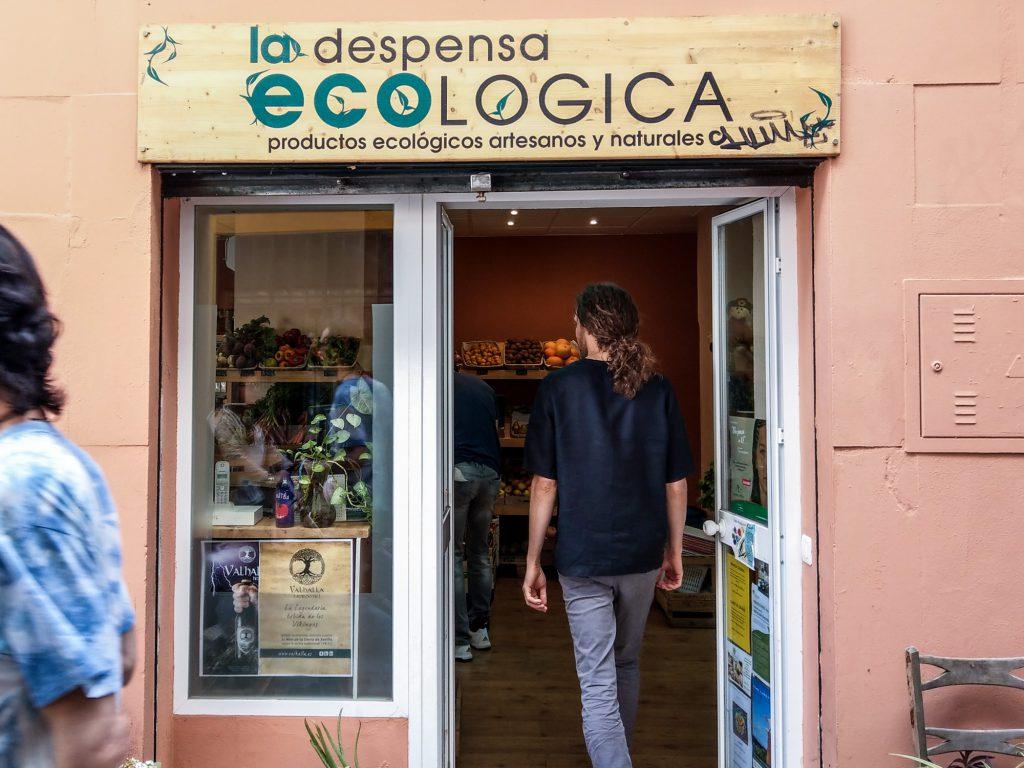 Bio kaufen in Sevilla. La Despensa Ecológica.