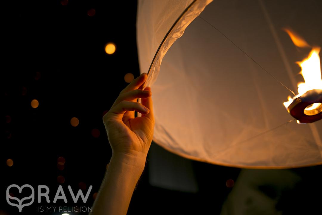 lantern Festival of light Loi Krathong and Yi Peng in Chiang Mai