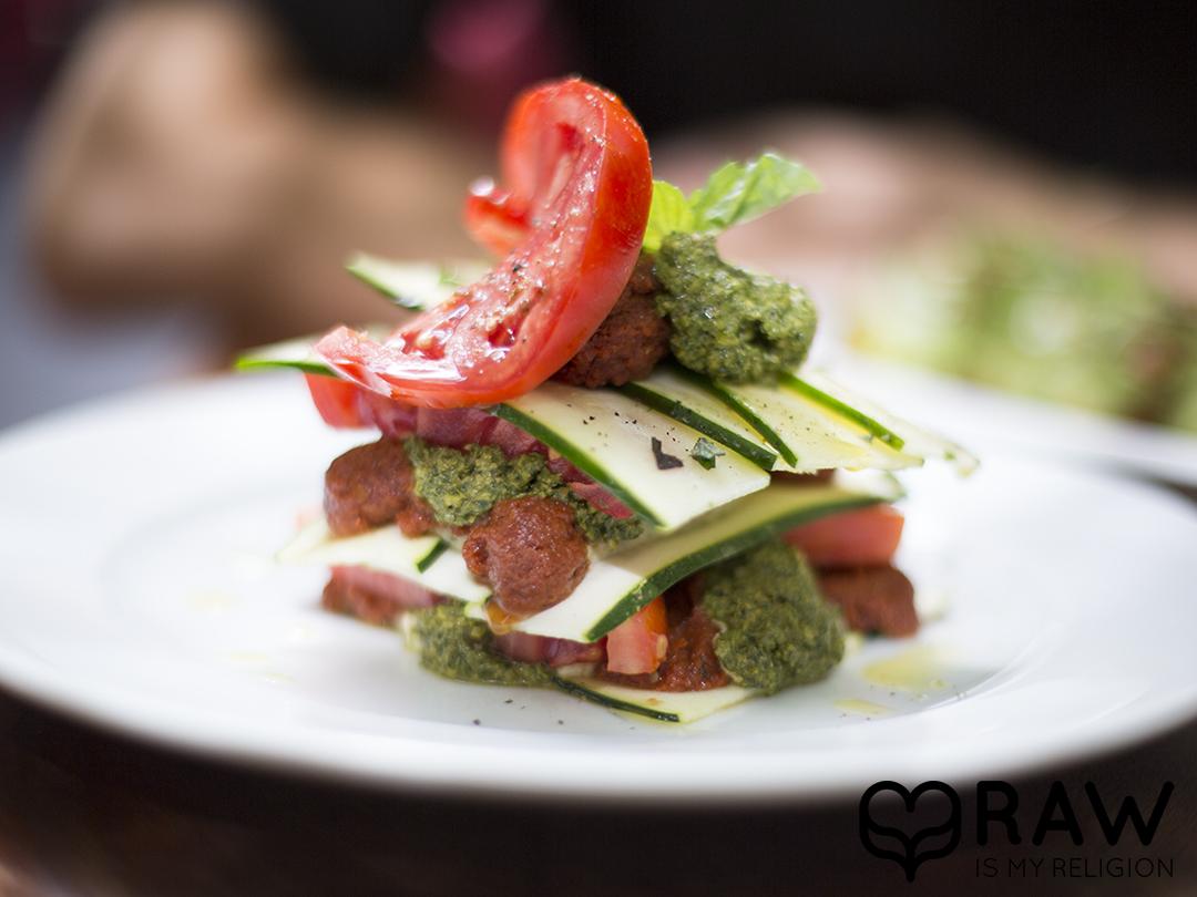lasagne plate pure food and wine nyc raw vegan
