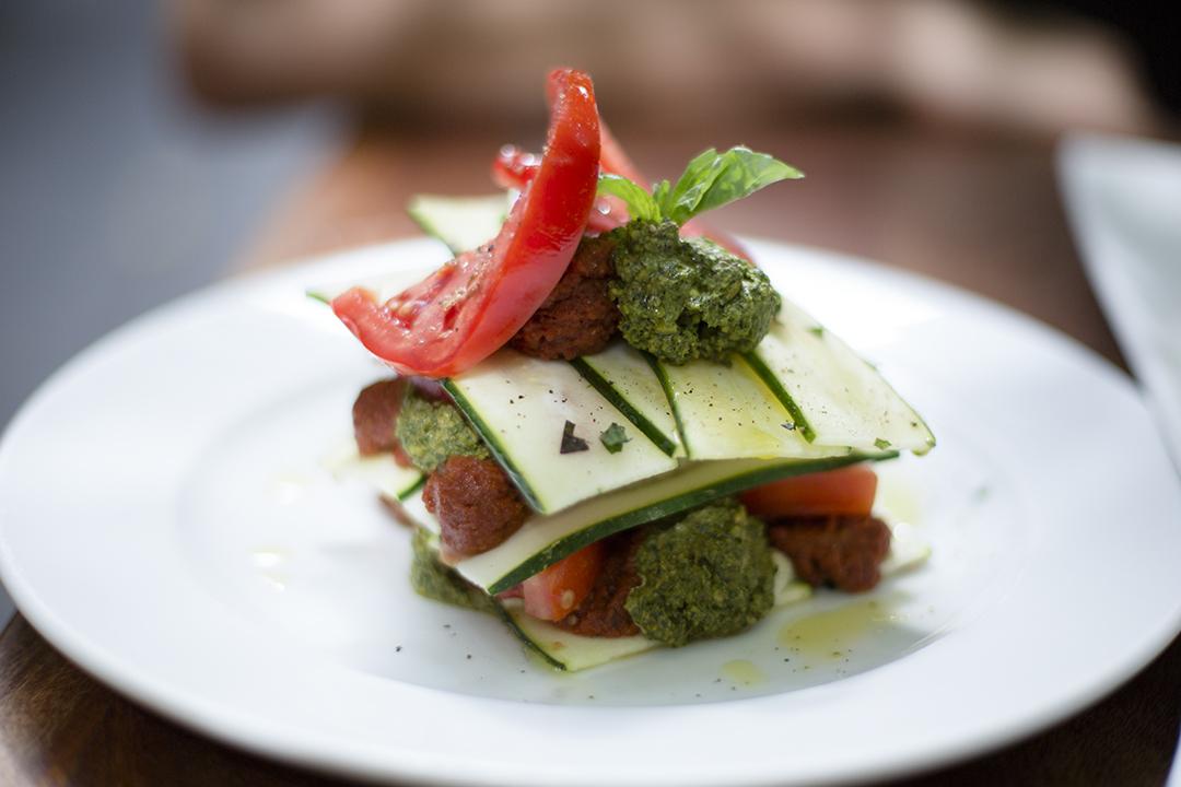 lasagne zucchini pure food and wine nyc raw vegan